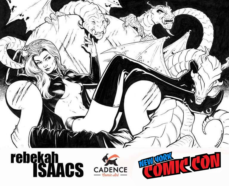 Image of Rebekah Isaacs NYCC Pre-Show Commission (Pick-Up)