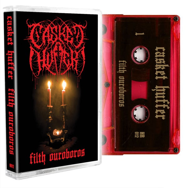 Image of Casket Huffer - Filth Ouroboros Cassette