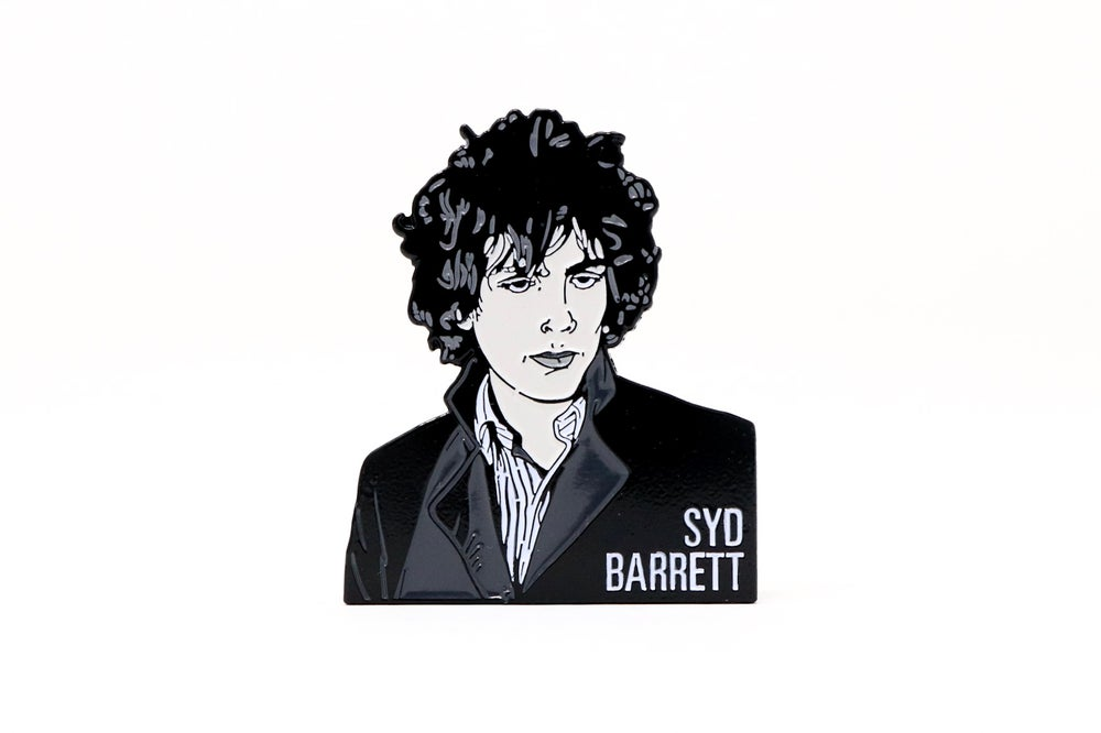 Image of Syd Barrett Enamel Pin