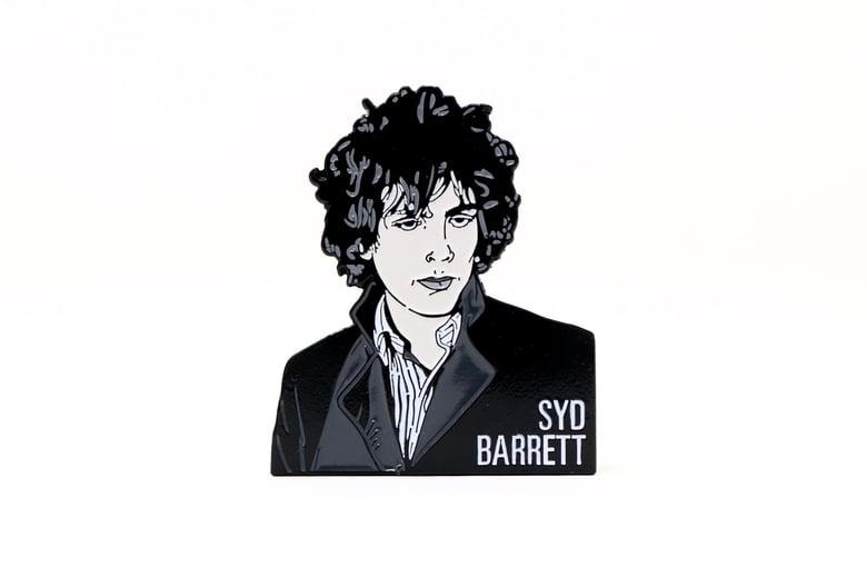 Image of Syd Barrett Enamel Pin