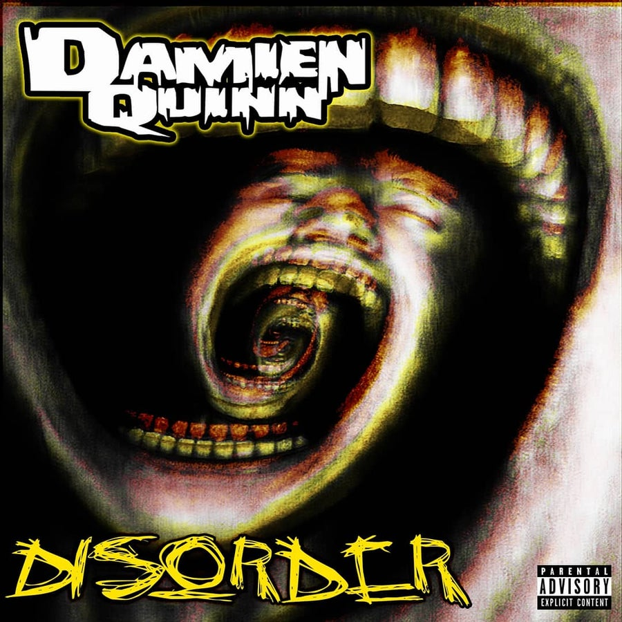Image of DAMIEN QUINN : DISORDER    CD