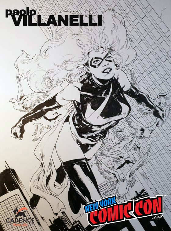 Image of Paolo Villanelli NYCC Pre-Show Commission (Mail Order Available)