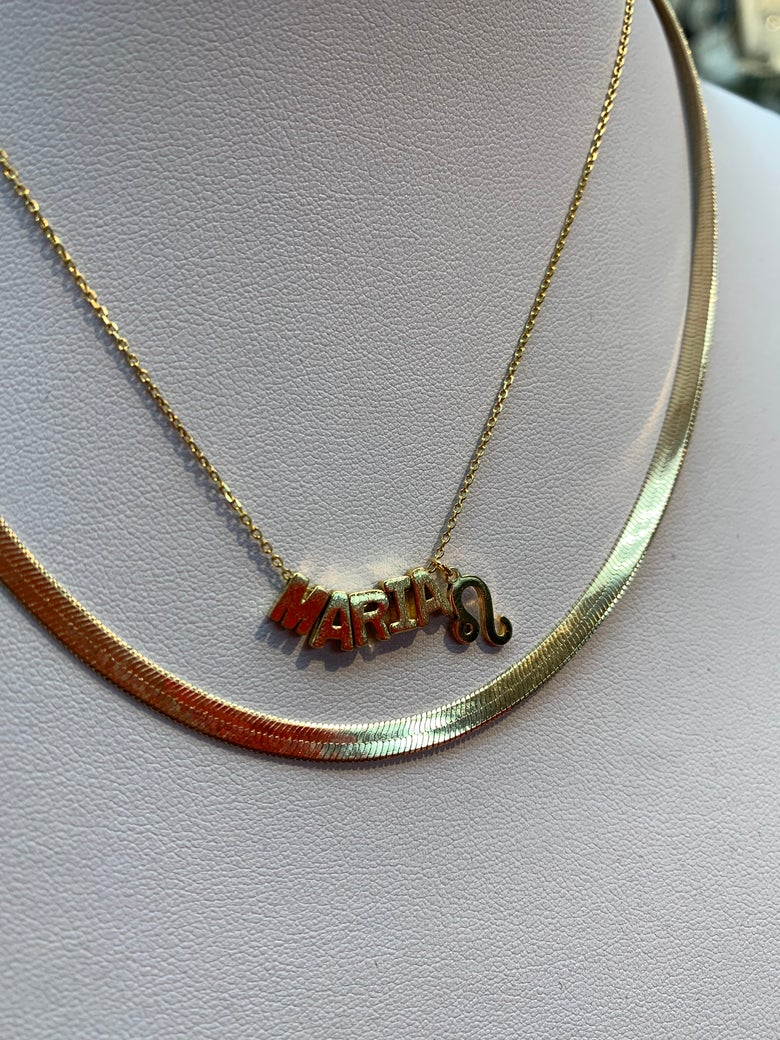 Image of Letter Me Up Necklaces (pls read description)