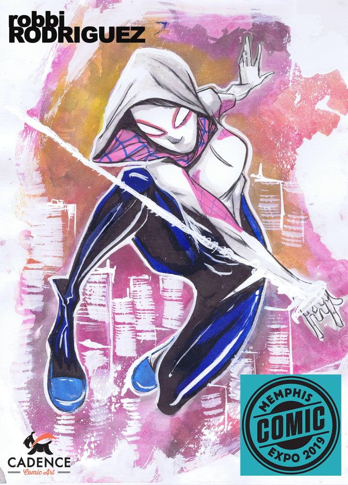 Image of Robbi Rodriguez Memphis Comic Expo Pre-Show Commission (Pick-up)