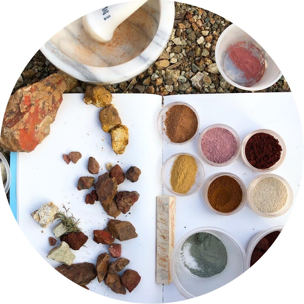 Image of OCHRE PIGMENT FORAGING with Heidi Gustafson