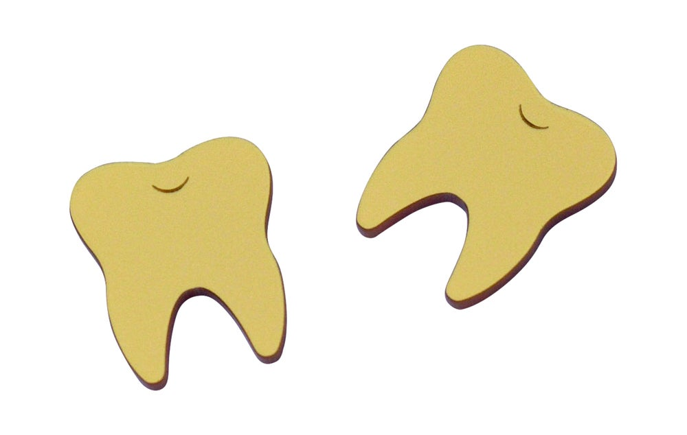 Image of Gold Teeth Studs