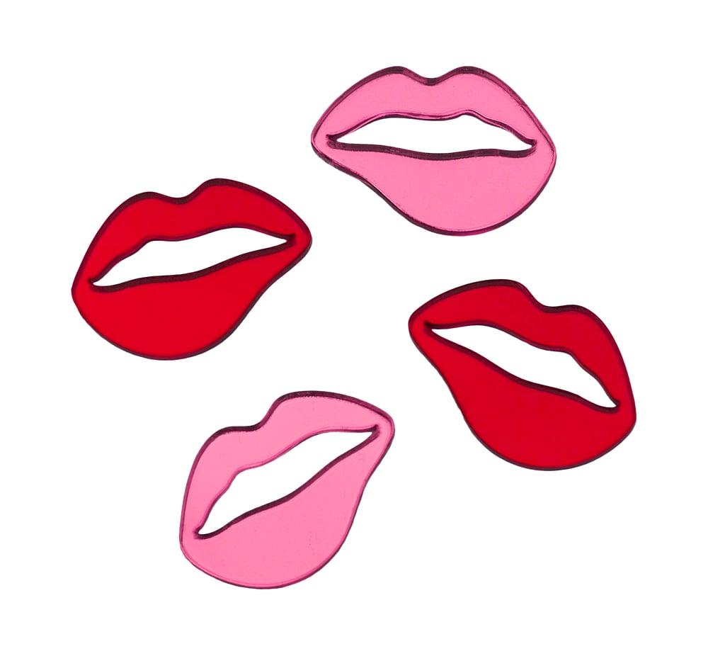 Image of Mirror Lip Studs
