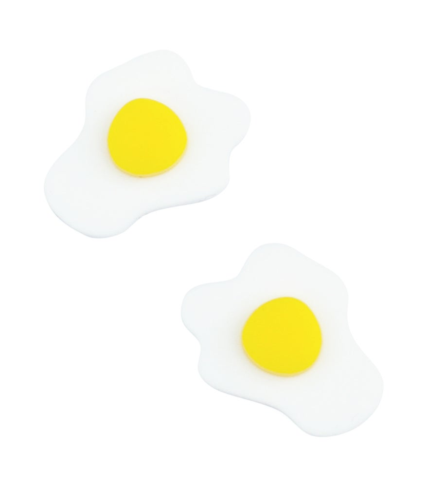 Image of Fried Egg Studs