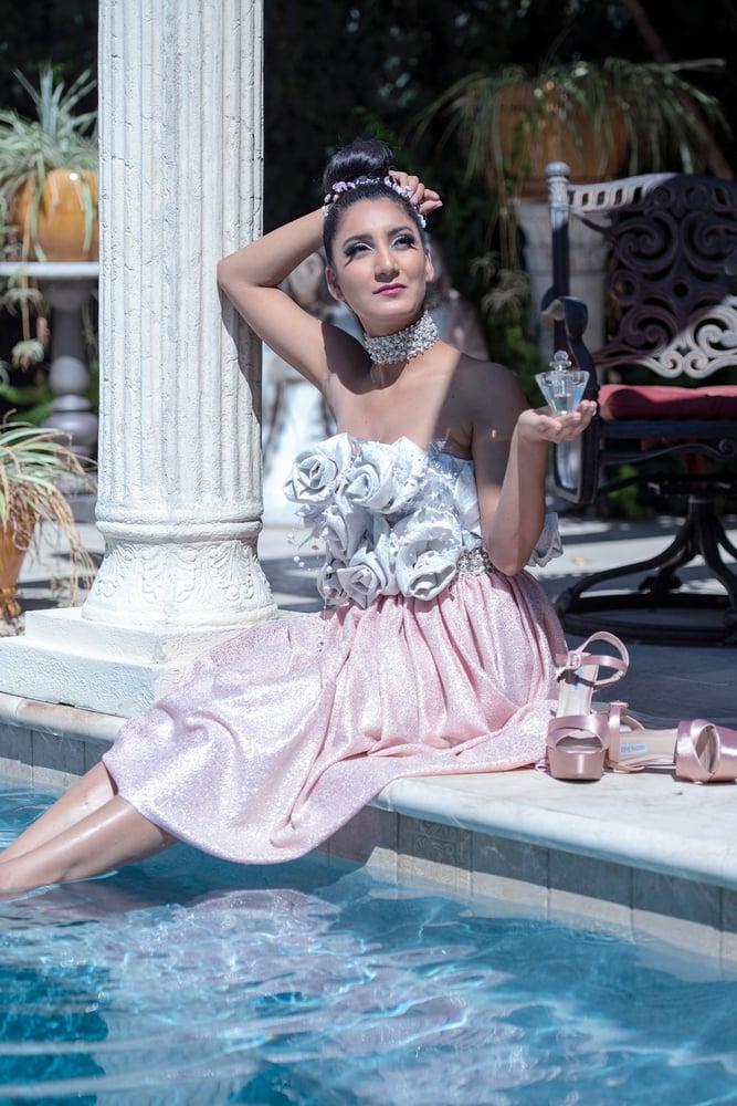 Image of Rosette Dress