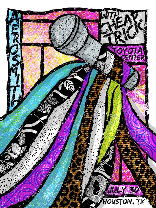 Image of Aerosmith - Houston Poster