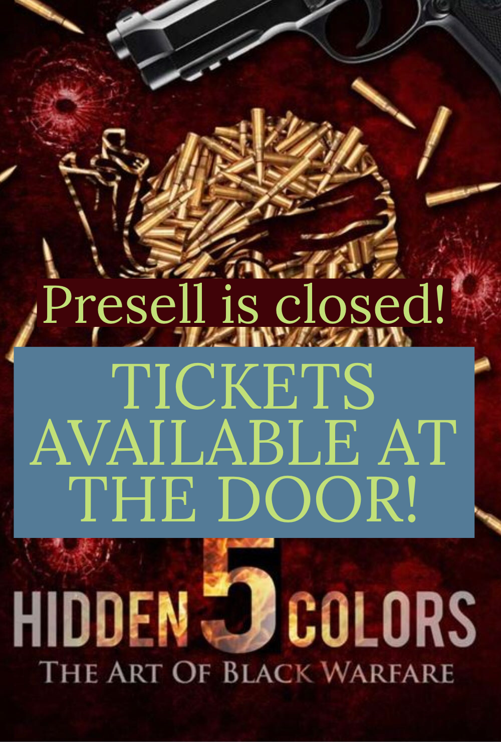 Image of  (TICKETS AVAILABLE AT THEATRE  )Hidden Colors 5  Movie Screening Phoenix