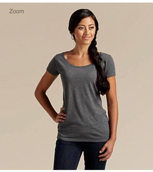 Image of Upgrade to a Fitted Scoop Neck Tee