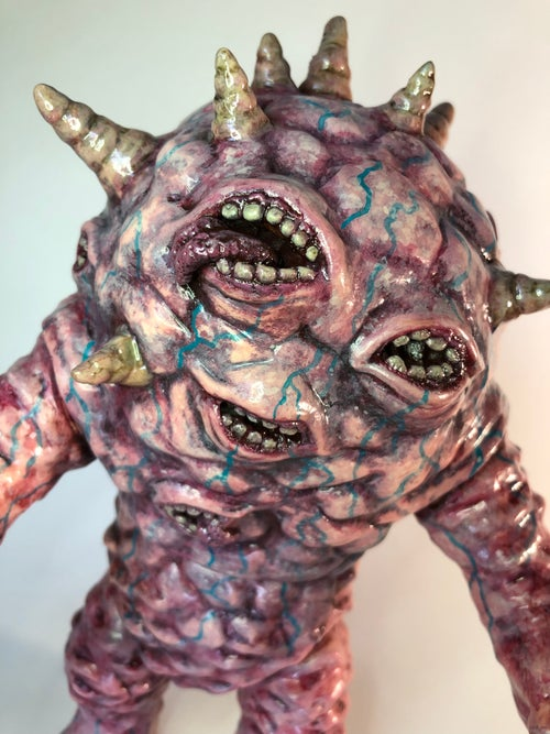 "Image of ""MOUTHZON"" Custom MaxToyCo. Eyezon Figure"