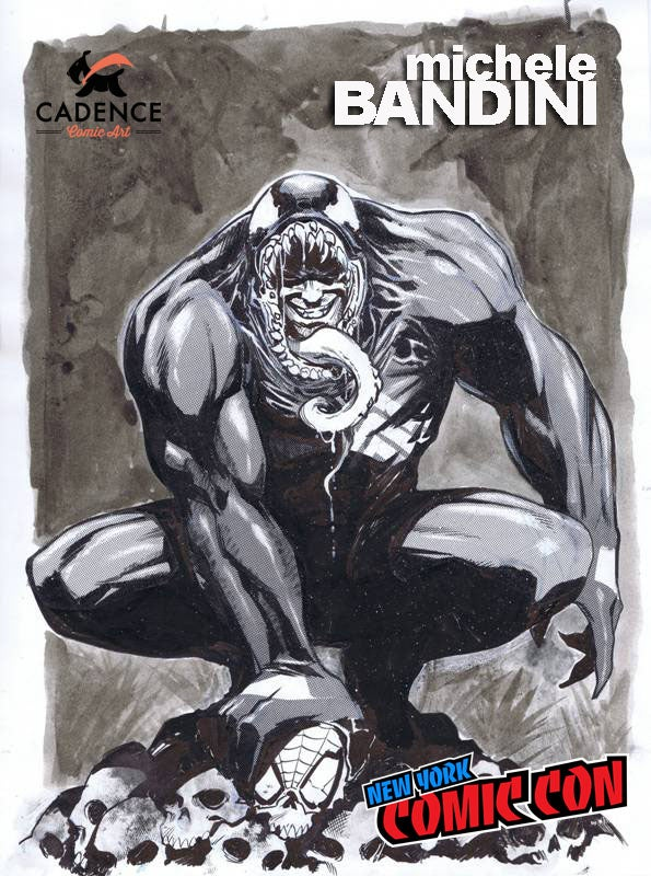 Image of Michele Bandini NYCC Pre-Show Commission (Mail Order Available)