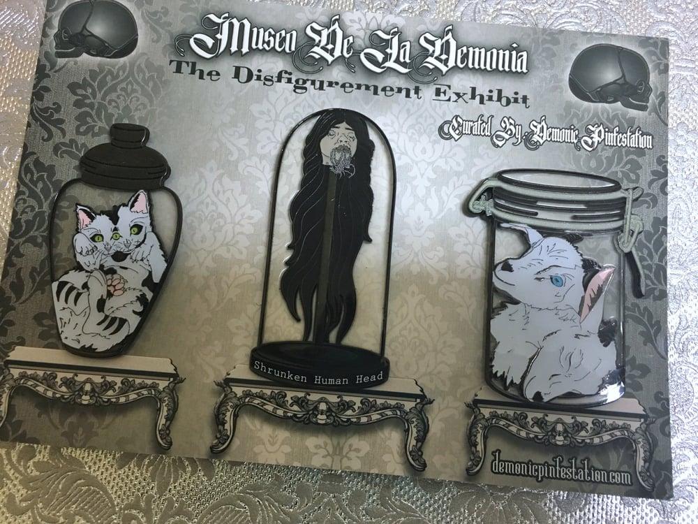Image of Museo De La Demonia- The Disfigurement Exhibit Pin