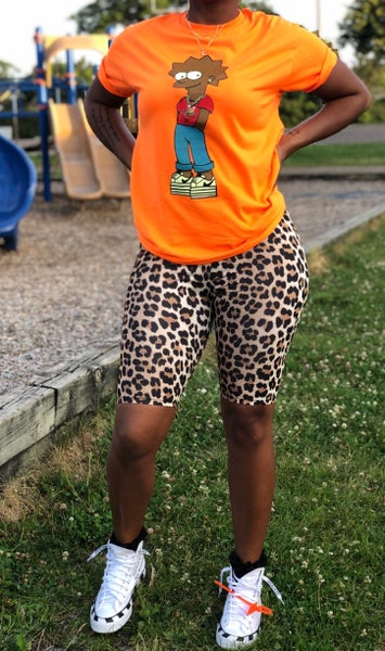 Image of Orange Fly Girl Lisa