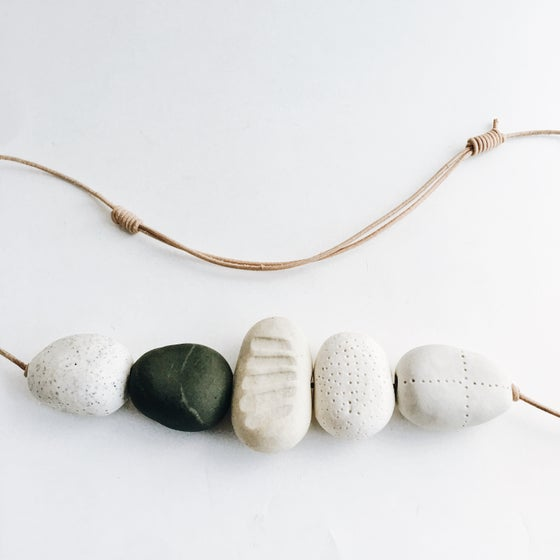 Image of Riverstone necklace