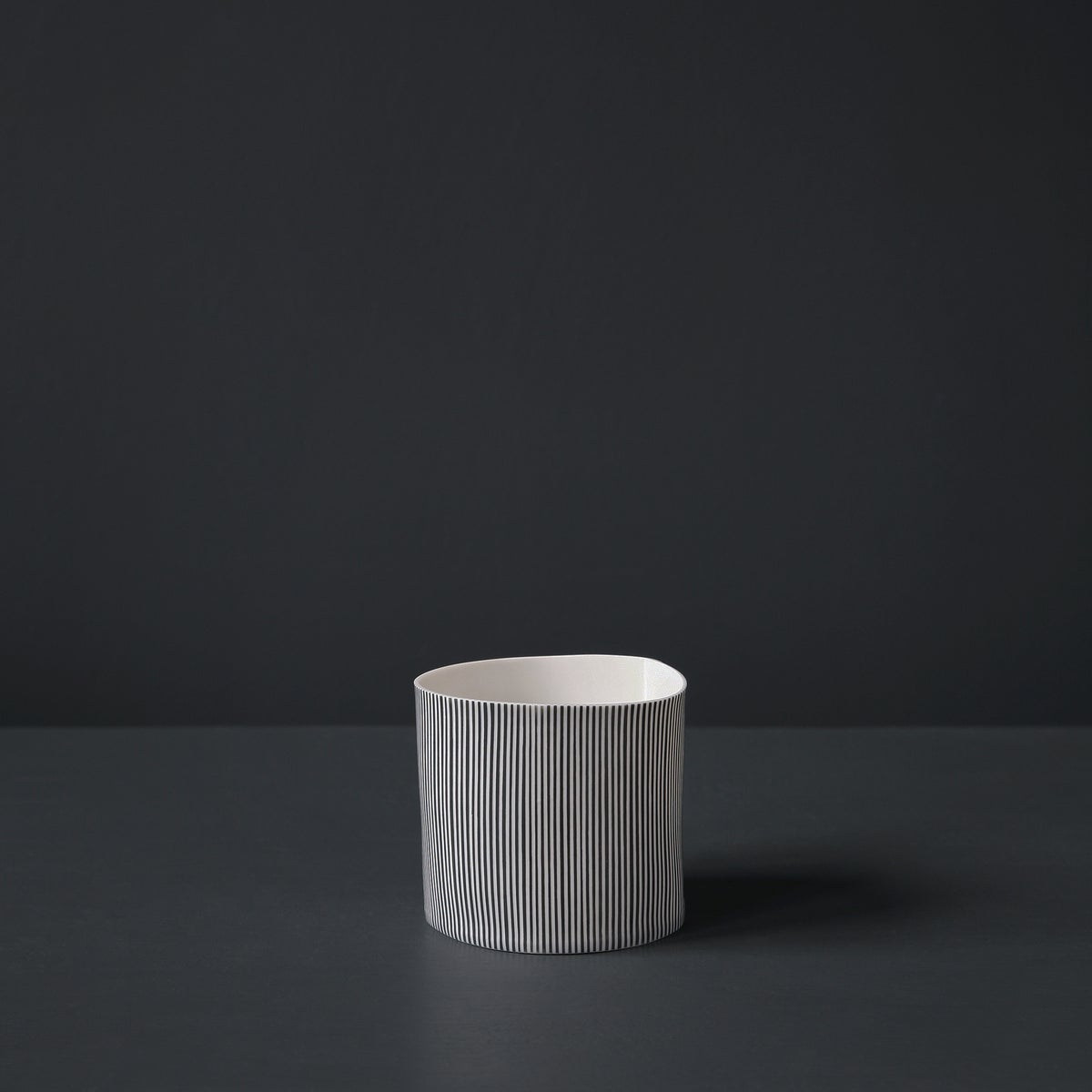 Image of Straight Stripe Vessel #3 by Justine Allison.