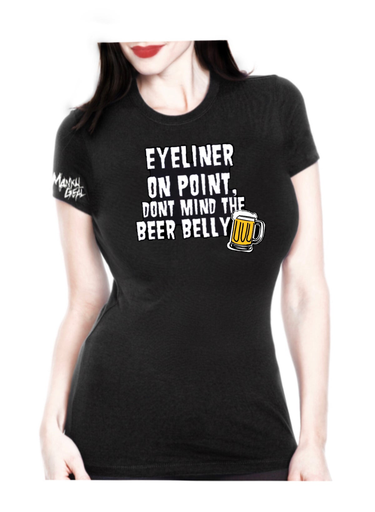 Image of Eyeliner On Point Women's Tee