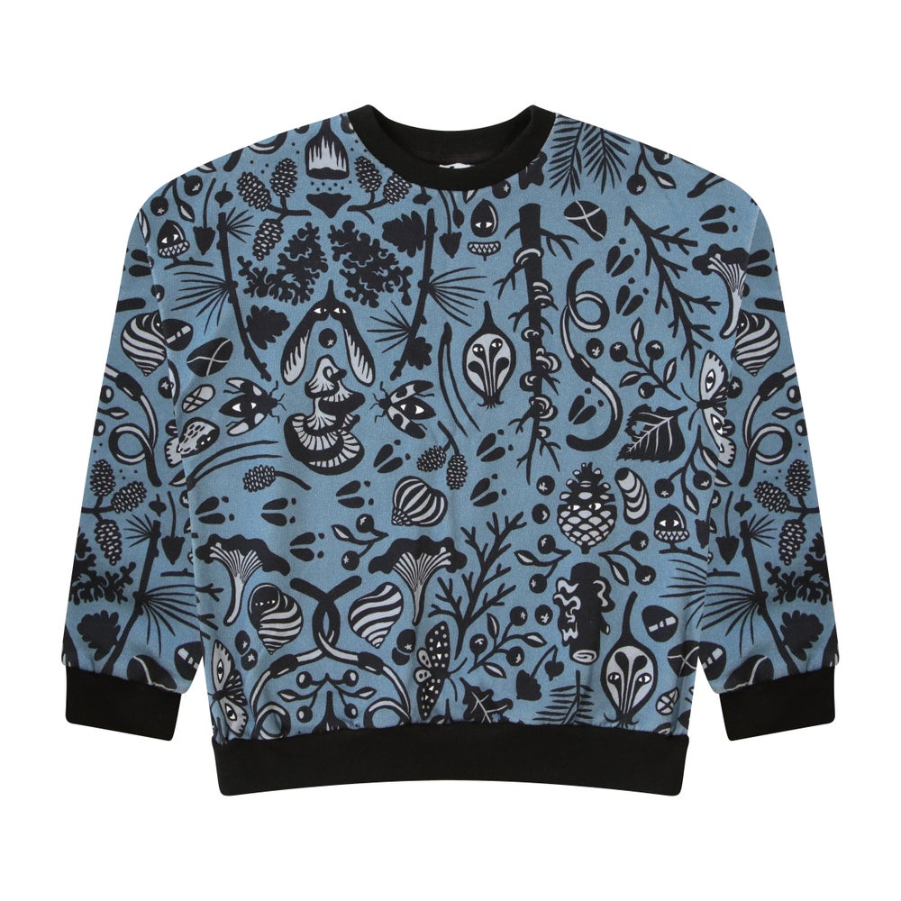 Image of Forest Muse Digital Sweater. Night
