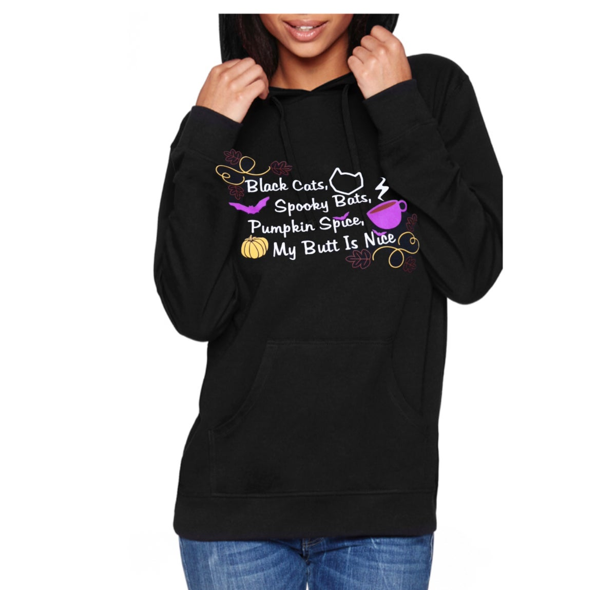 Image of Pumpkin Spice, Butt Is Nice Unisex Pullover Hoodie