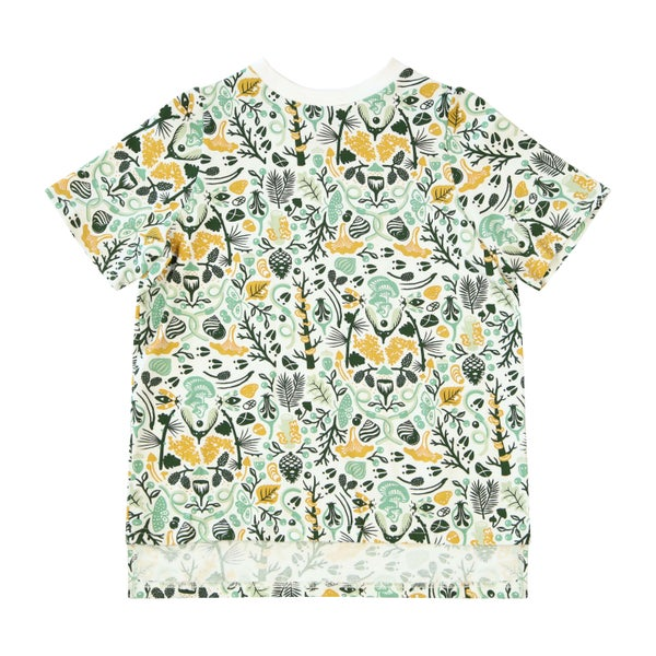 Image of Forest Muse Digital Print Tee. Green Day
