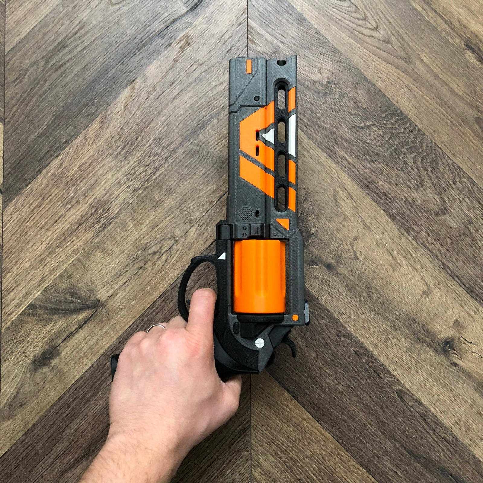 The Devil You Know Hand Cannon 3D Printed Destiny