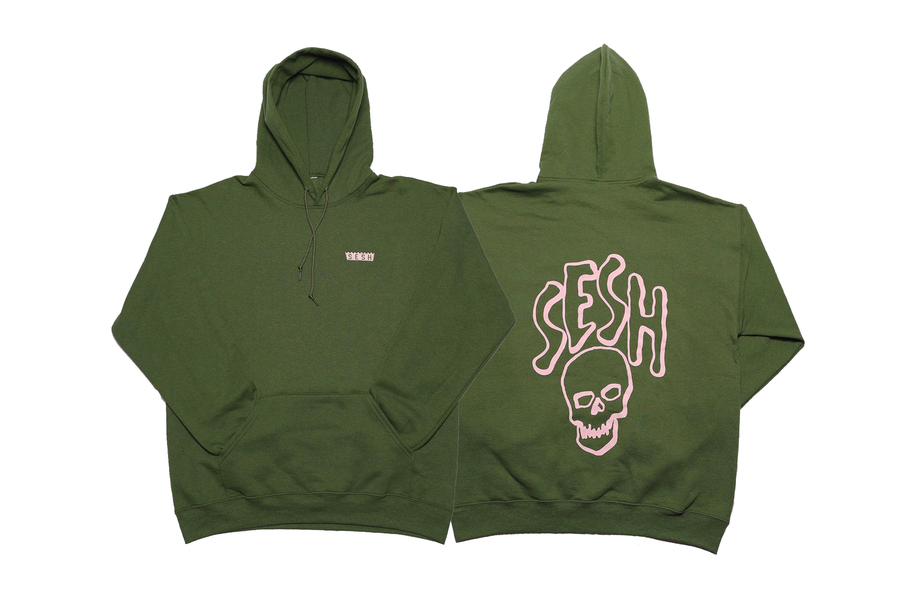 Image of Sesh Logo Embroidered Hoodie