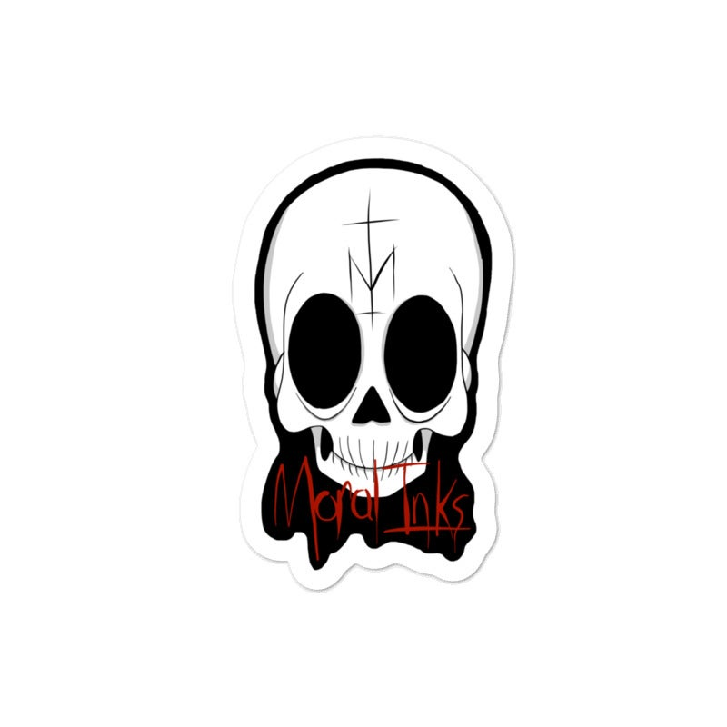 Image of Original Moral Inks Logo Sticker
