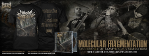 Image of MOLECULAR FRAGMENTATION COMBOPACK CD/DIGI + T-SHIRT