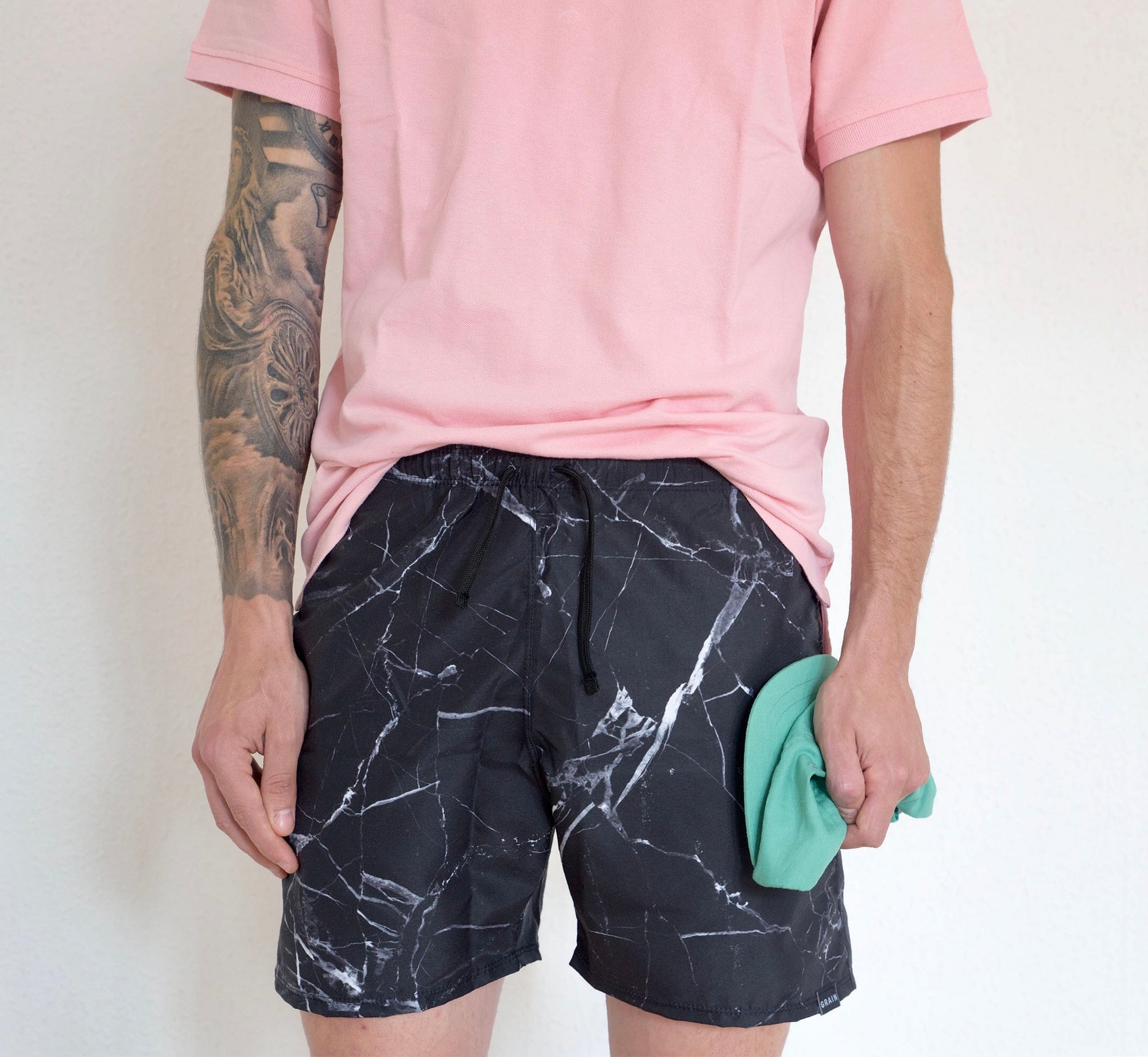 Image of Marble swim short
