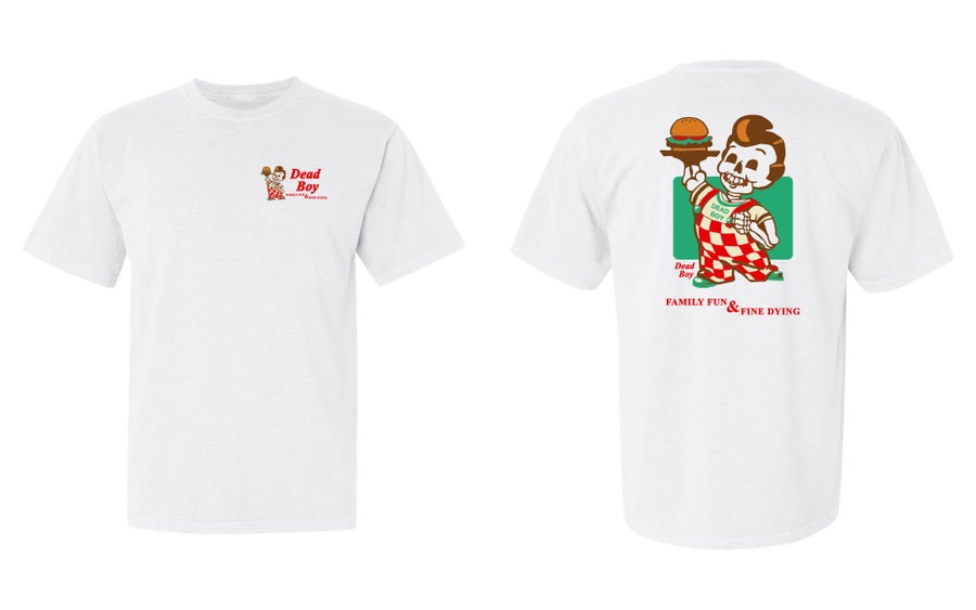 Image of DeadBoy Burger Shirt
