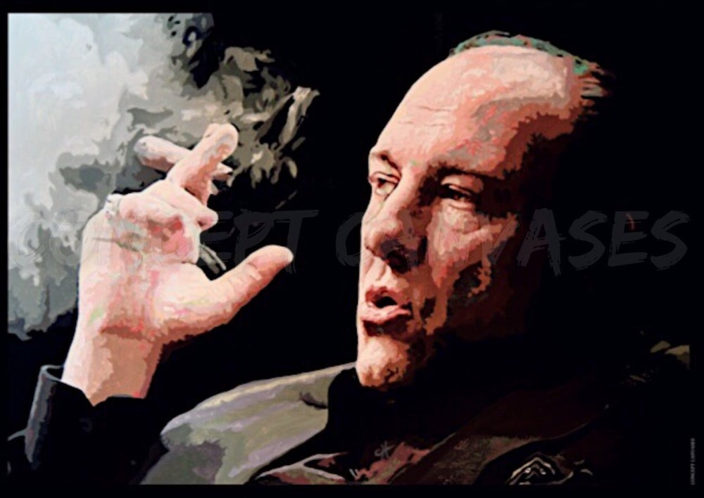 Image of Tony Soprano A3 Print