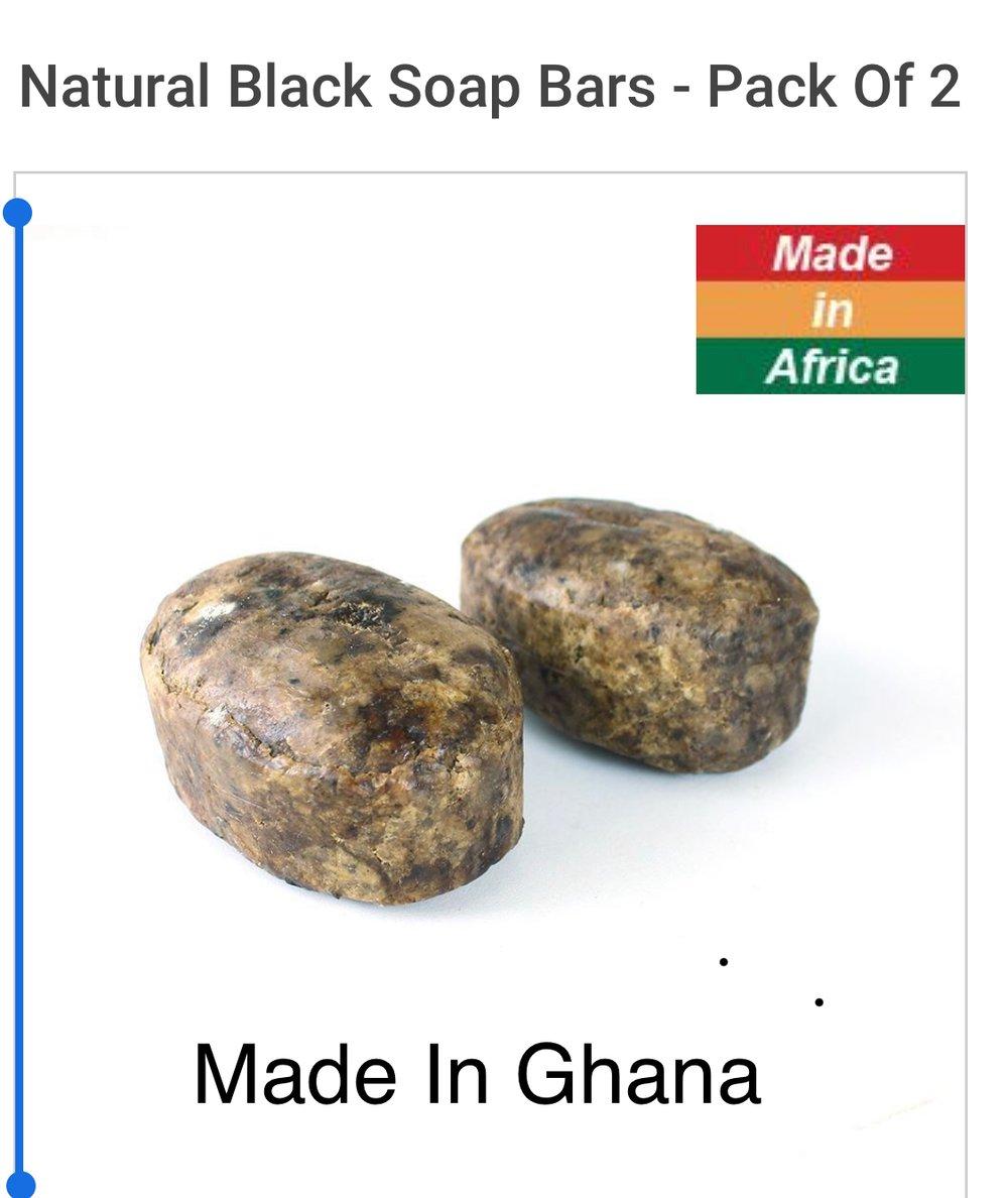 Mandinko Shea Butter Black Soap