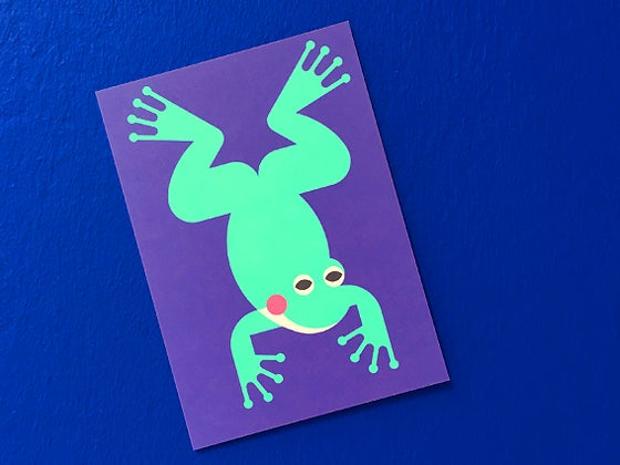 Image of POSTKARTE Frosch