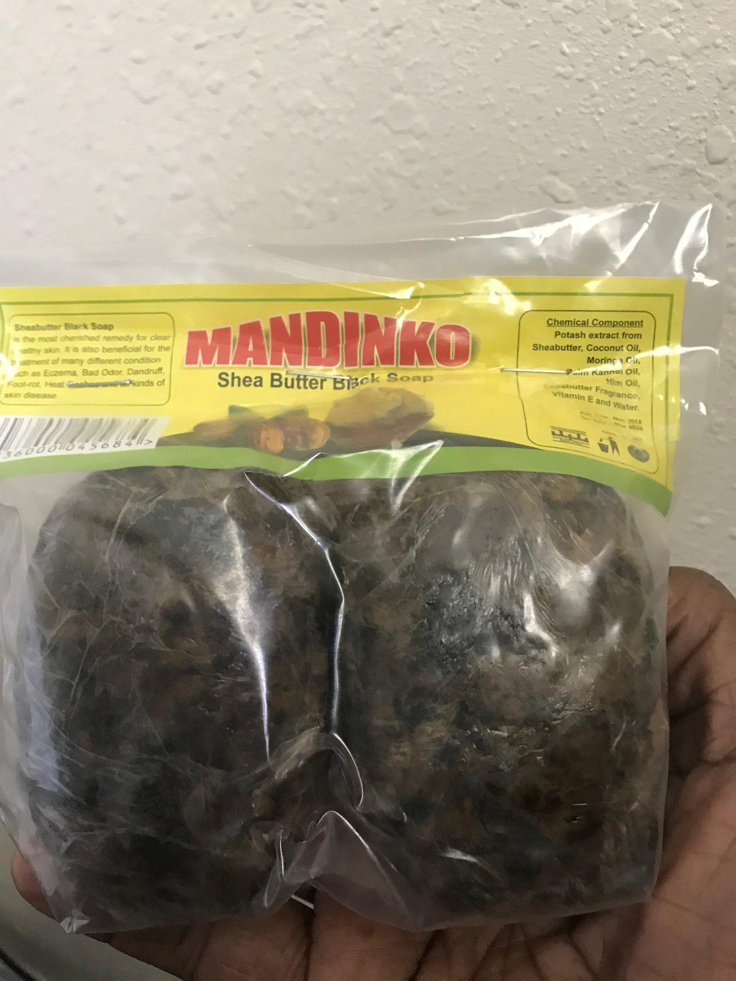 Image of Mandinko Shea Butter Black Soap