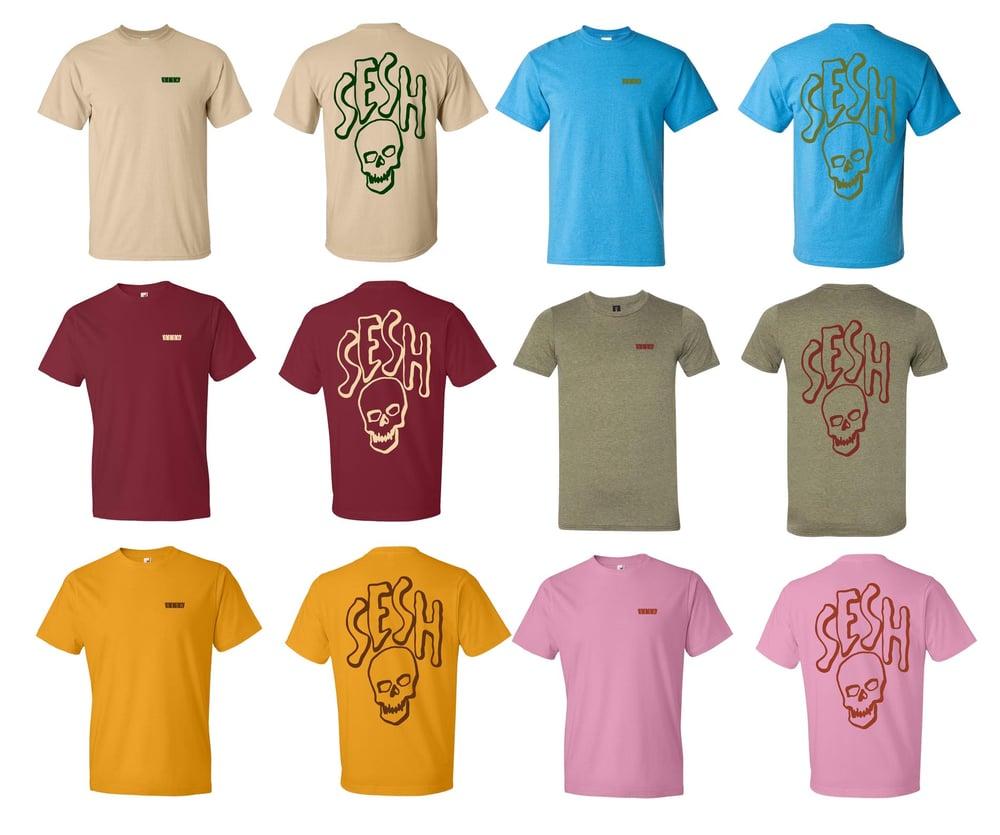 Image of Sesh combo logo shirt