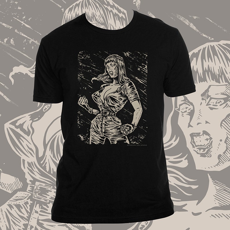 Image of Tura Satana Tribute T-Shirt