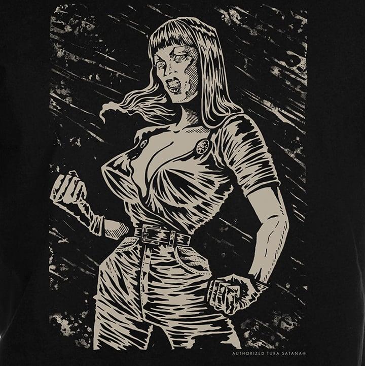 Image of Tura Satana Tribute T-Shirt