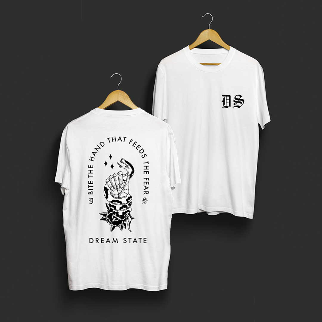 Image of 'Bite The Hand That Feeds The Fear' T Shirt