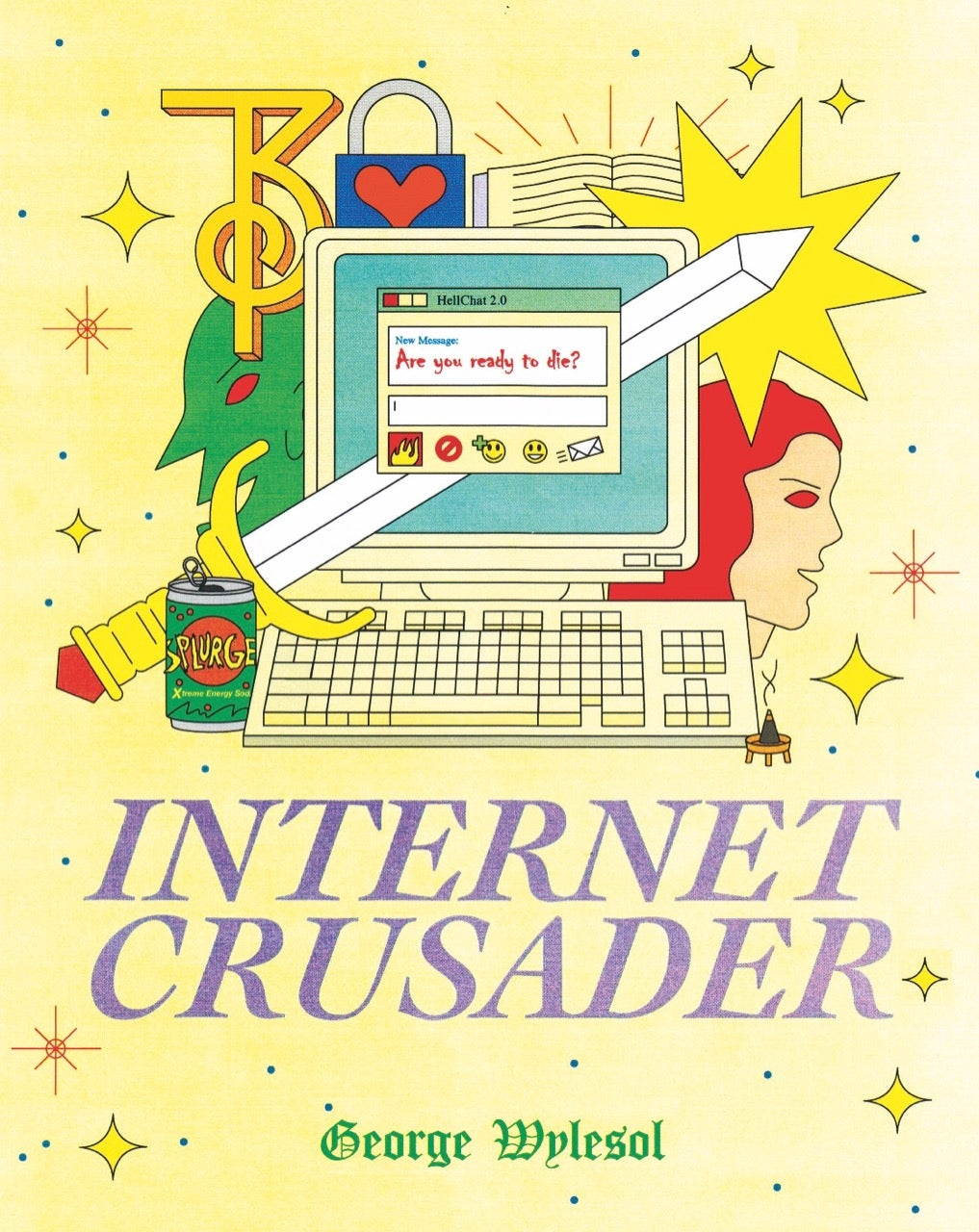Internet Crusader by George Wylesol