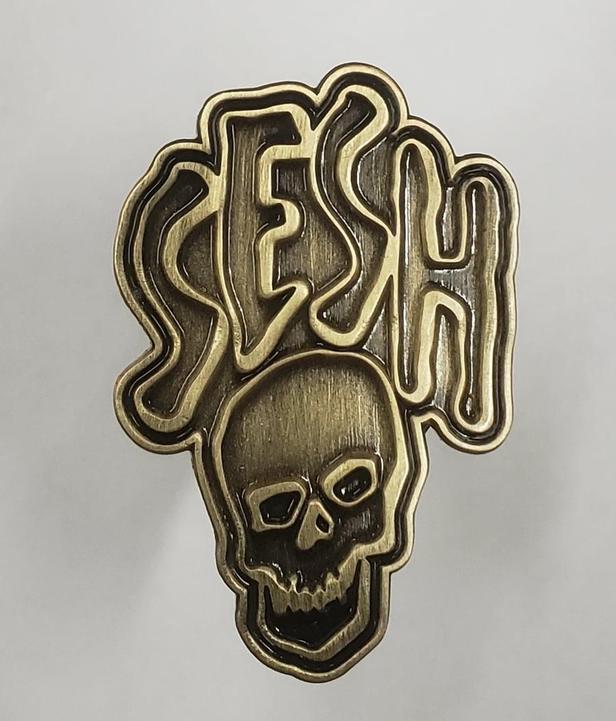 Image of Seshskull Lapel Pin
