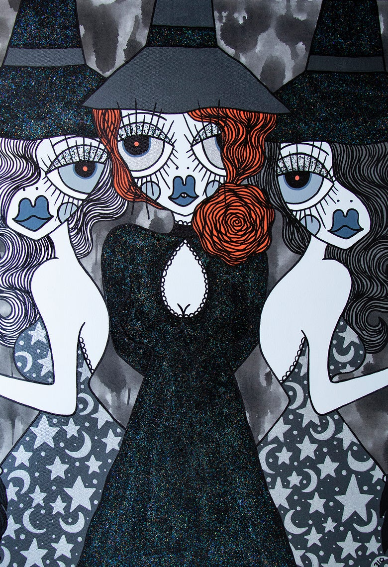 Image of Into the Coven (print)