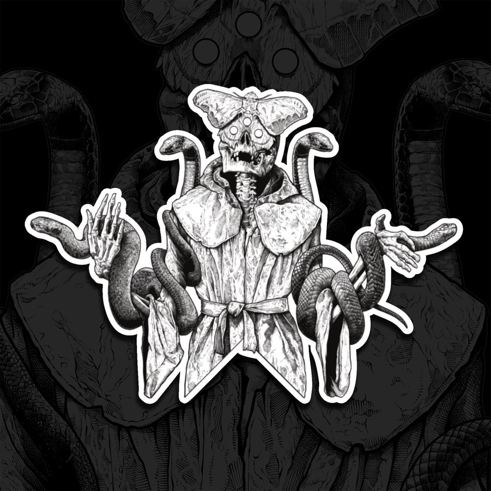 Image of Serpent Of Gnosis Holographic Sticker
