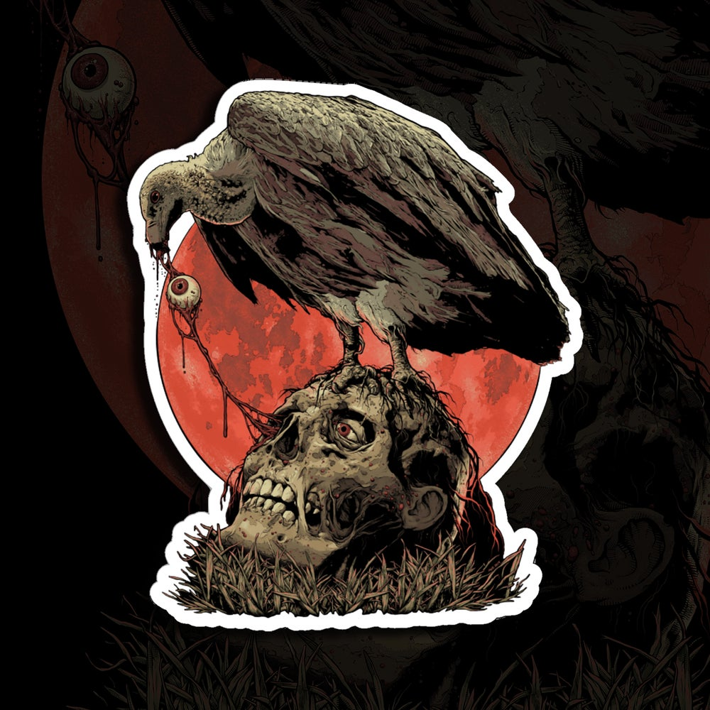 Image of Vulture Sticker