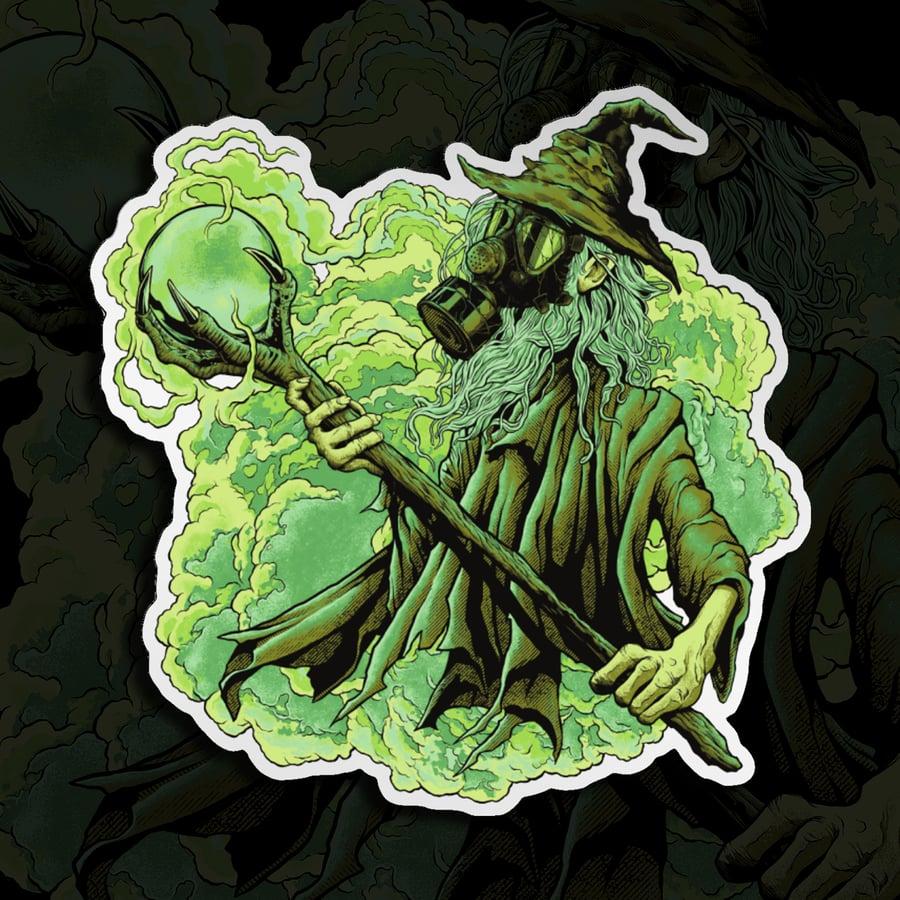 Image of Wizard Mirror Sticker