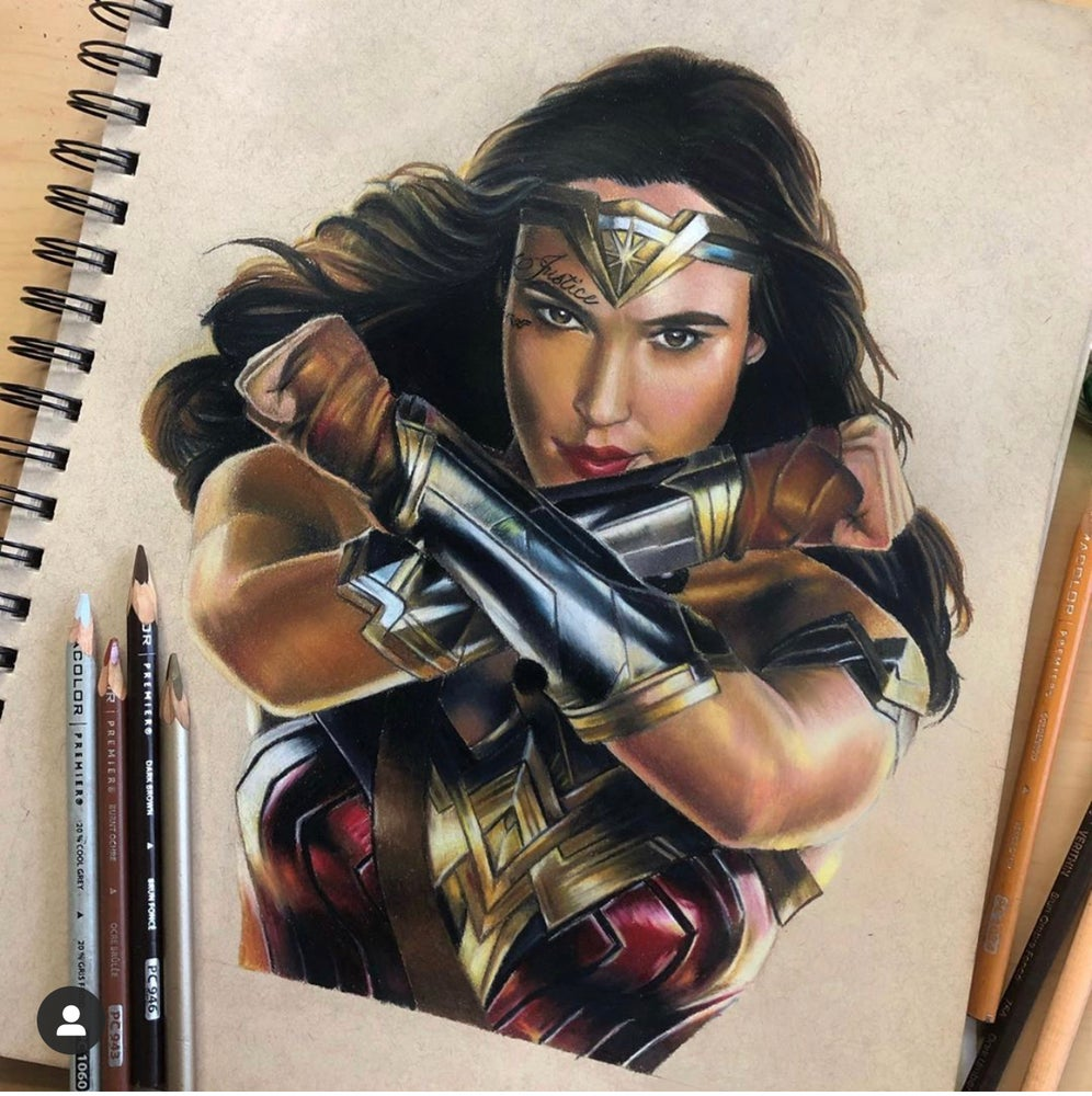 Image of Wonder Woman Print