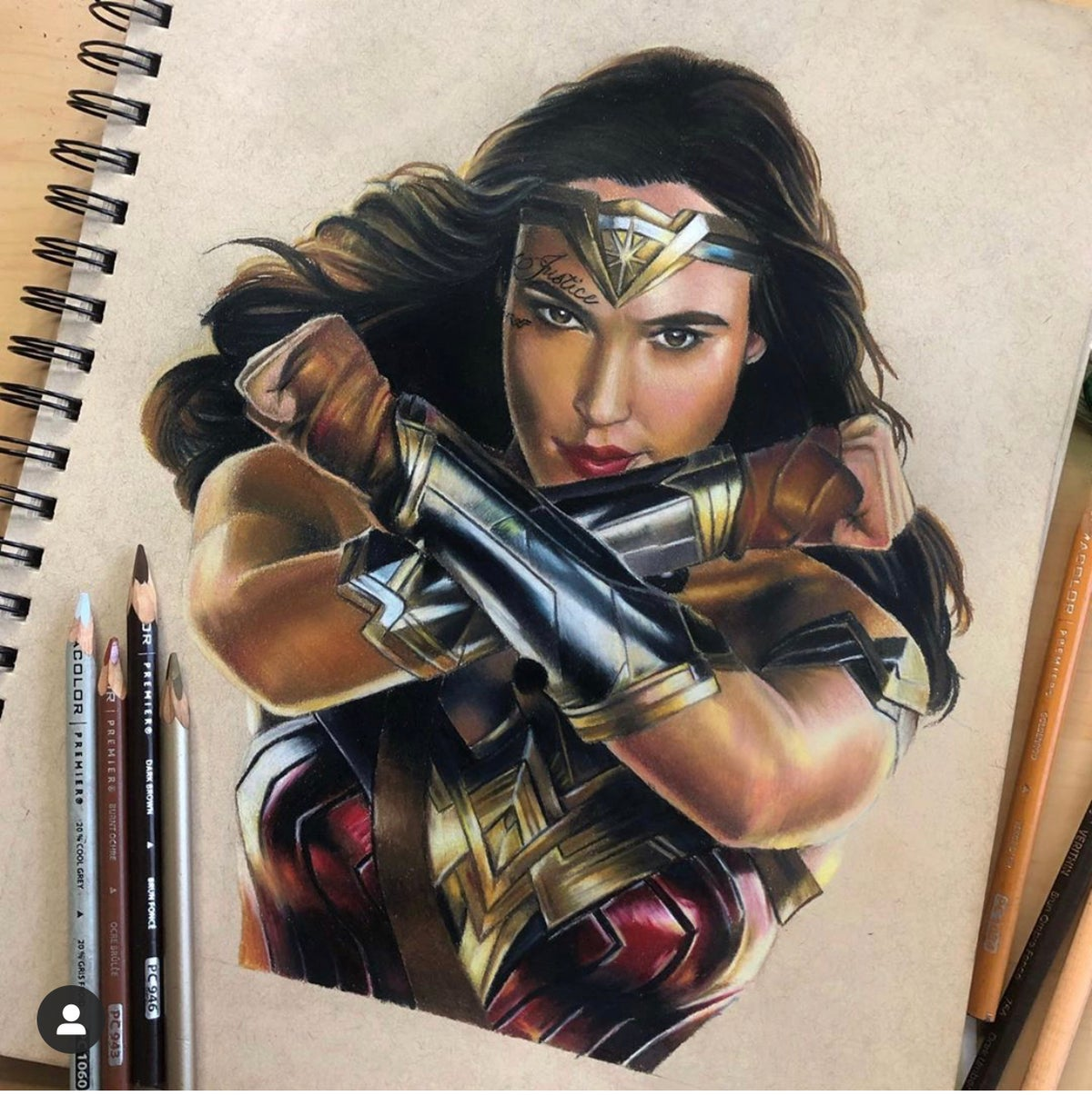 Image of Wonder Woman Print