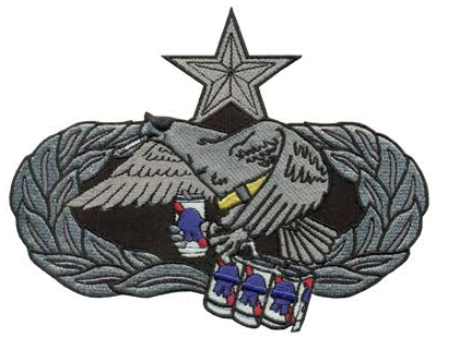 Image of Big Ass MX Badge Patch (7-Level)