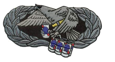 Image of Big Ass MX Badge Patch (5-Level)